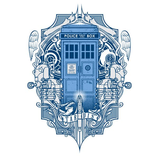 Doctor Who Tattoo By Atacoast Deviantart Com On: 25+ Best Ideas About Tardis Tattoo On Pinterest