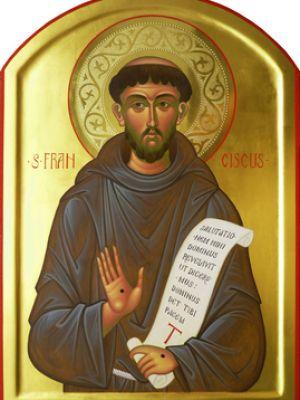 San Francesco di Assisi; 35 x 50 cm, Collezione Privata, Bari, Italia, 2010