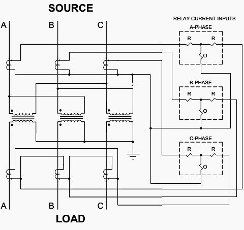 typical application of current differential relays for delta wye Isolation Transformer Wiring Diagram typical application of current differential relays for delta wye transformer protection power substations transformers, electrical engineering
