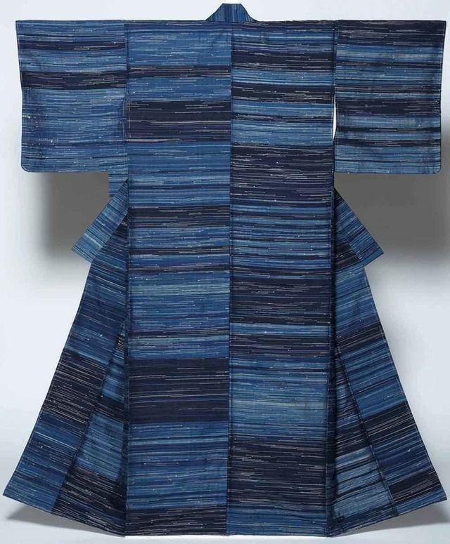 Dyed by Japan's Living National Treasure Fukumi Shimura