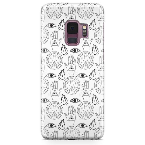 Tie Dye Alien Emoji Samsung Galaxy S9 Case | casescraft
