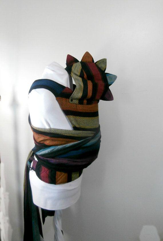 WCMT Girasol Corrina Diamond Weave Wrap Conversion by GracieandSam, $320.00 SO MUCH BABYWEARING WANT