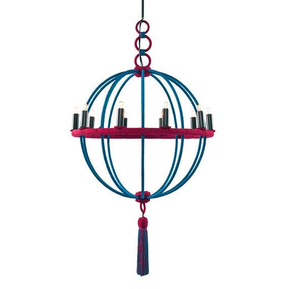 Bagatelle Boule Chandelier  Traditional, Transitional, Metal, Chandelier by Helene Aumont