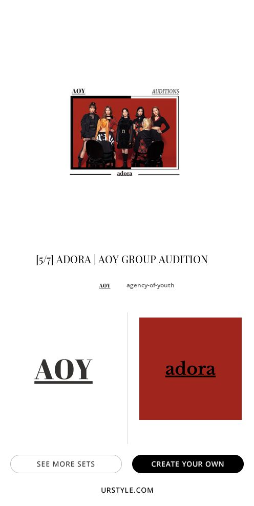 ADORA; Often stylized as ADOЯA is a South Korean Kpop girl ...