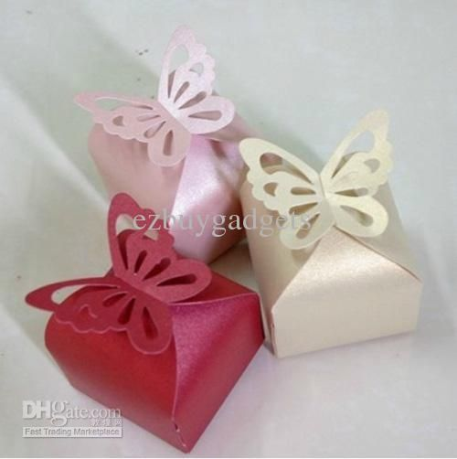 Baby Shower Favors To Buy ~ Cheap butterfly top favor box wedding favors baby shower