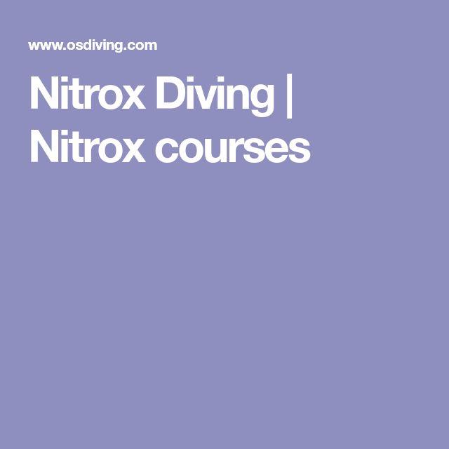 Nitrox Diving | Nitrox courses