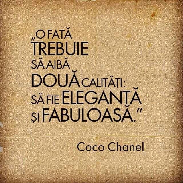 Fata-eleganta, fabuloasa. Coco Chanel