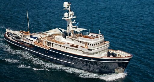 yacht Seawolf  – owned by Cognos co-founder  Michael Potter