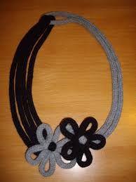Risultati immagini per come fare collane di lana
