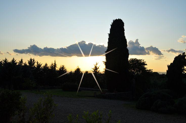 Sunset time at Casafrassi...