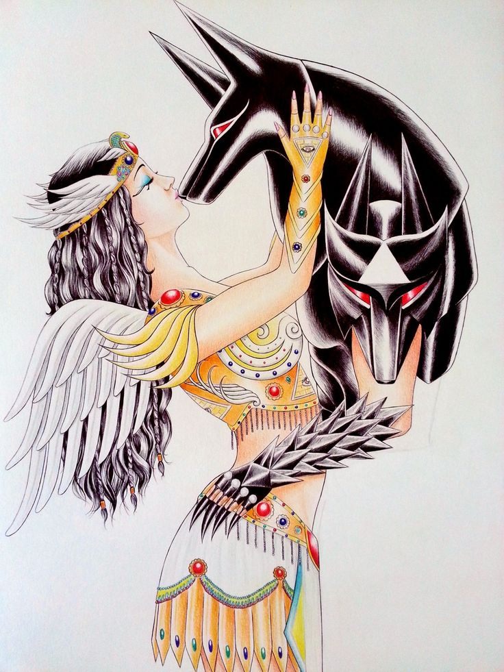 Anubis drawing