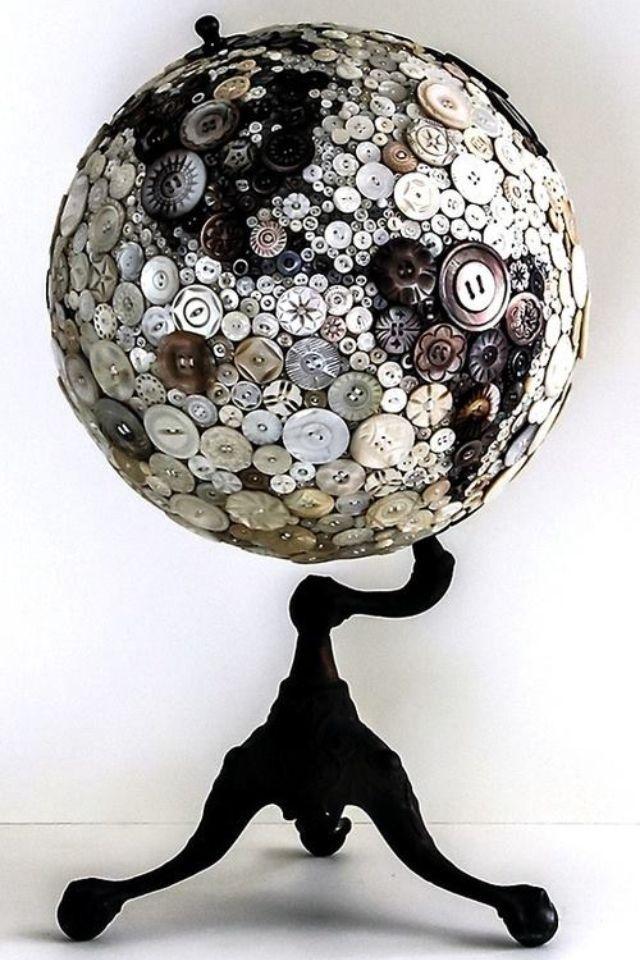 button crafts | Buttons | Craft Ideas-Button Inspiration