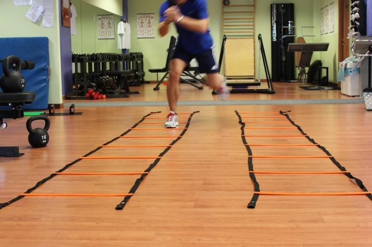 Esercitazioni di destrezza con scaletta | SCI ...