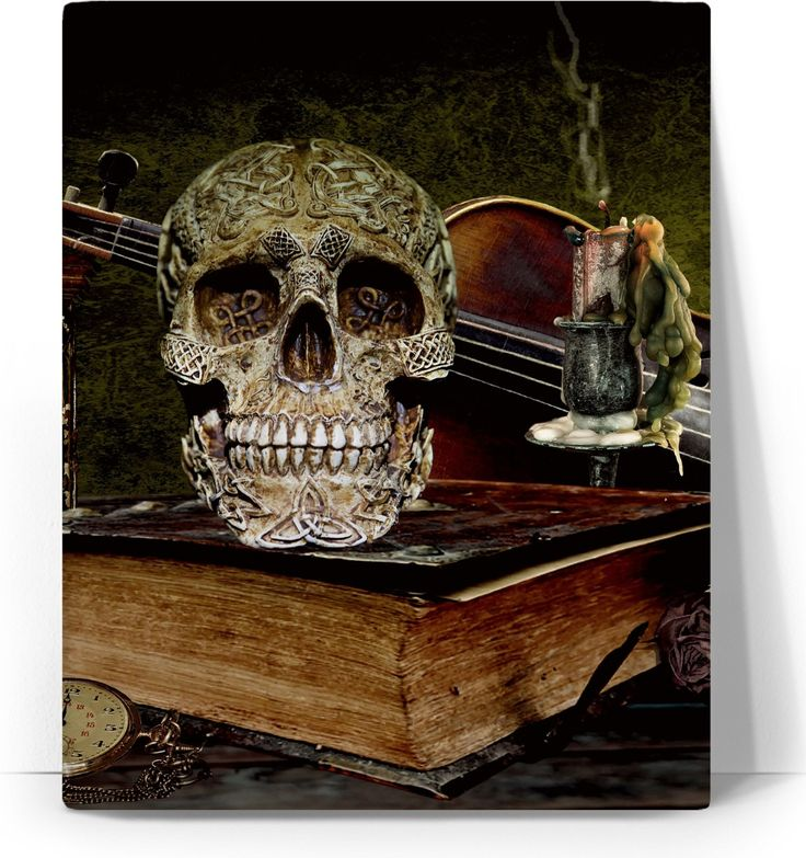 Check out my new product https://www.rageon.com/products/skull-and-book-art-canvas-print?aff=BWeX on RageOn!