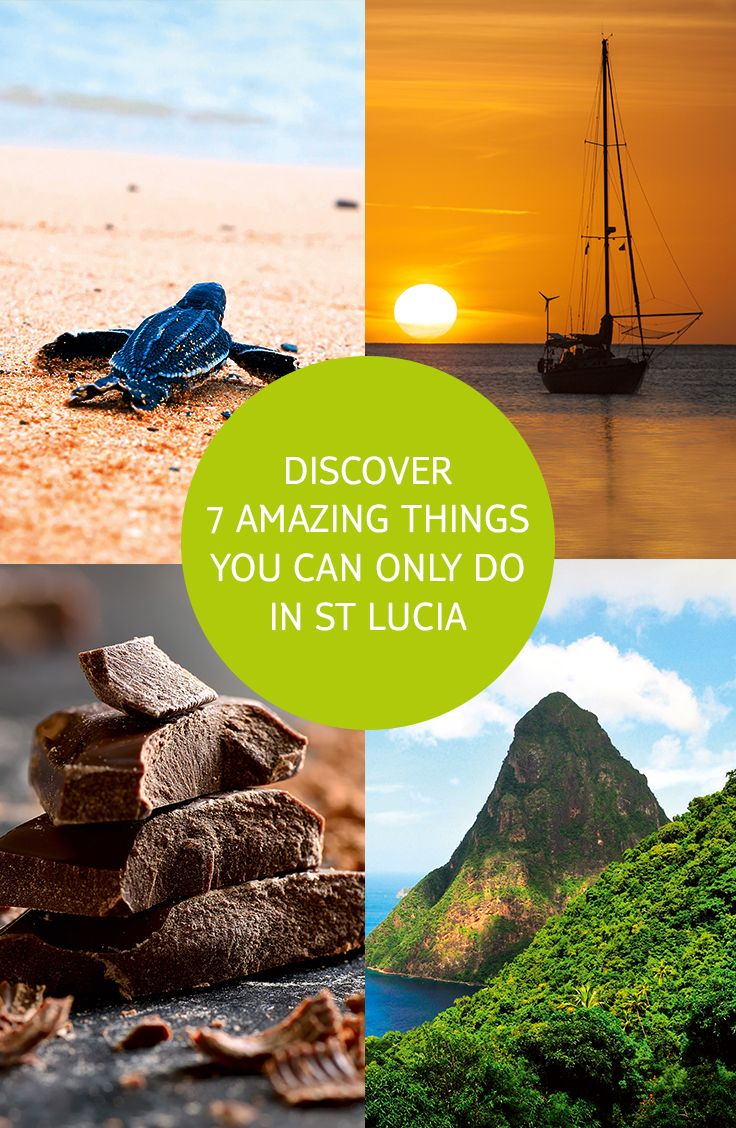 Want to know more about our brand new Caribbean destination? We explore 7 amazing things to do on the tropical island, including driving through a volcano, ziplining through the jungle and making your own chocolate.