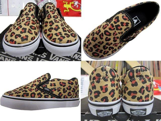 【楽天市場】VANS(バンズ) Kids Classic Slip On(Leopard) Black/TrueWhite 【14cm−17cm】(スケートボード,スケボー,スリッポン,US限定モデル,国内未発売,キッズ,子供):カットバック