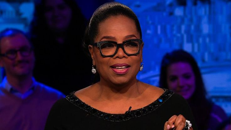 Oprah Winfrey says she was inspired to help the survivors of the Parkland, Florida, school shooting because their dedication to the cause of gun control reminded her of the civil rights movement.
