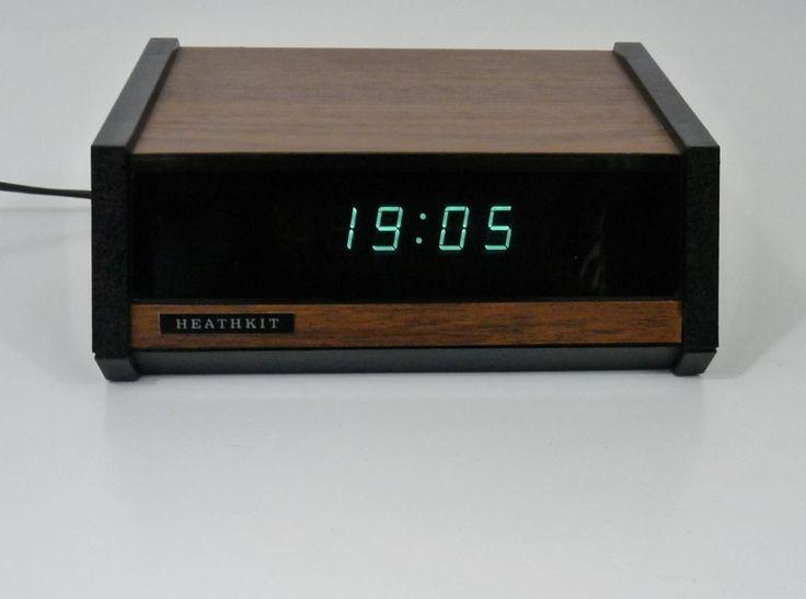 Big Rig Alarm Clock : Meer dan afbeeldingen over heathkit op pinterest