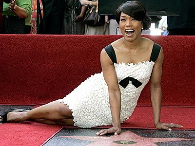 Angela Bassett - the woman doesn't age.  No flaws found here.