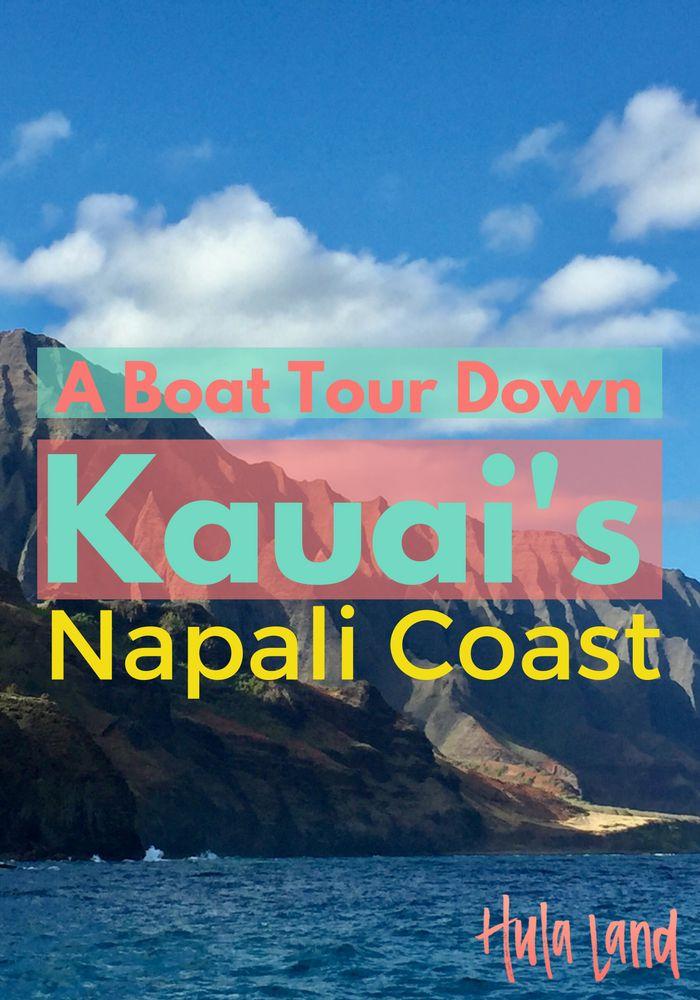 Boat Tour of Kauai's Napali Coast