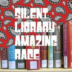 Library Amazing Race idea