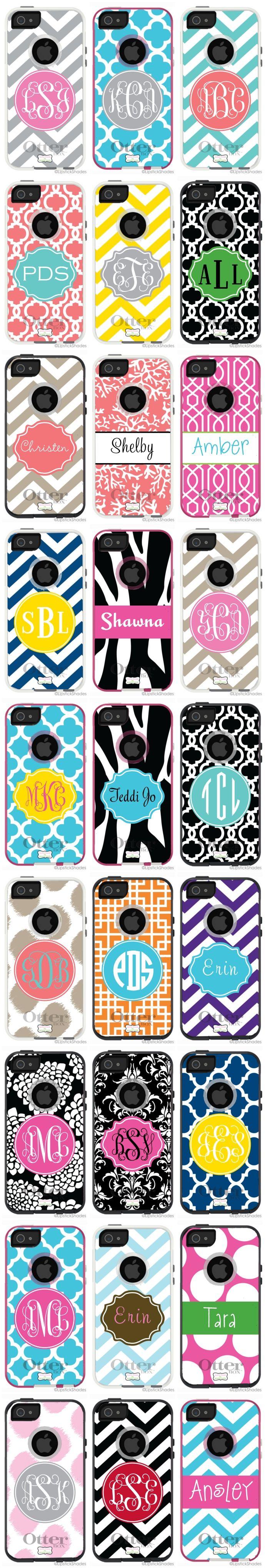 monogram iPhone otterbox...LOVE!!