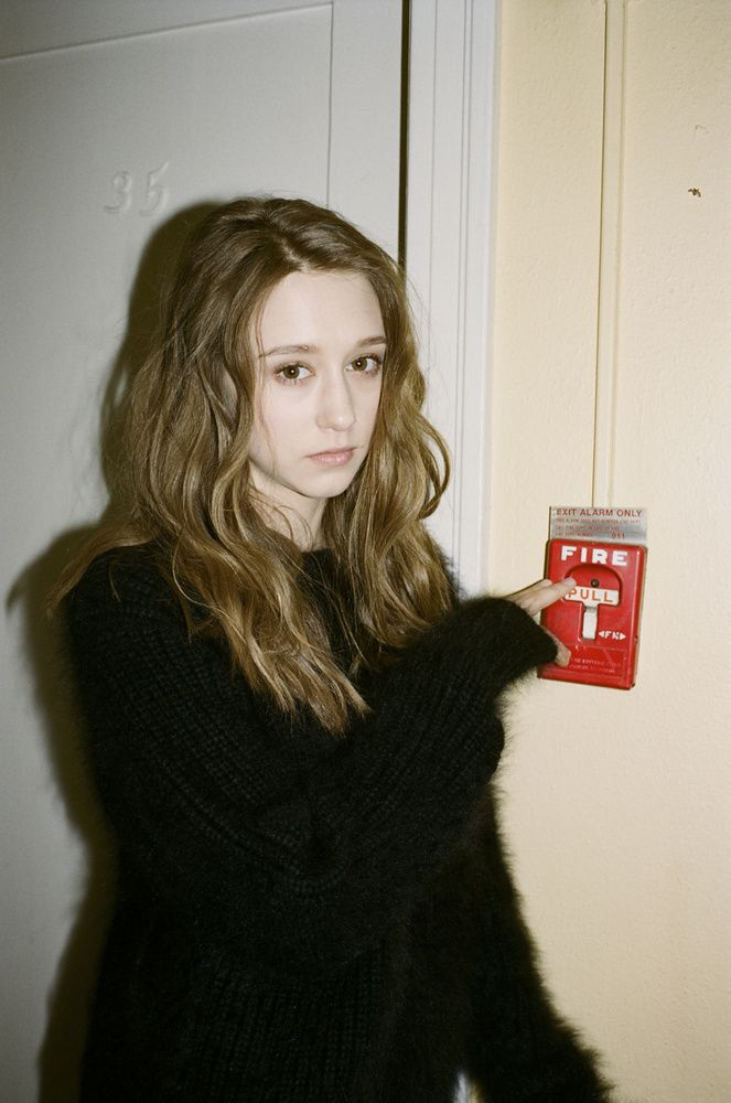 Taissa Farmiga for Dazed and Confused Magazine (July 2013)