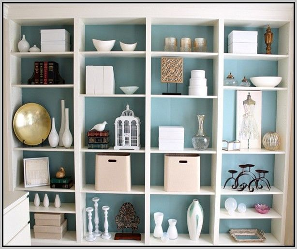 9 Wall Storage Ideas That You Need To Try: Ikea Hemnes Bookcase Hack