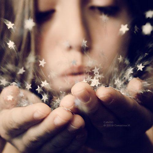 #wishes #glitter #stars