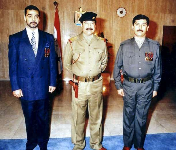 July 22,  2003: SADDAM HUSSEIN'S SONS ODAI AND QUSAI ARE KILLED  -    Qusay and Uday Hussein, sons of the former Iraqi dictator, are killed in a long gun battle with U.S. forces in Mosul, Iraq. Their death was celebrated by many Iraqis as they were believed to be even more ruthless than their father, who was captured alive five months later by U.S. forces.
