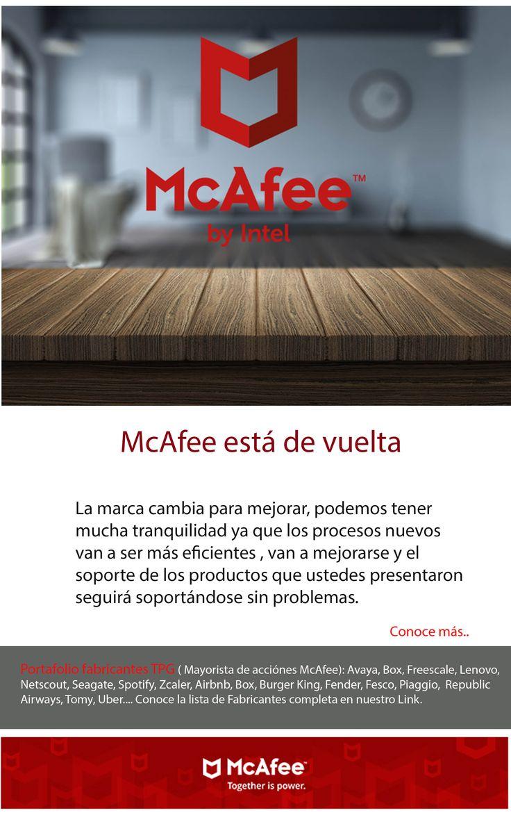 McAfee está de vuelta La nueva McAfee se convertirá en una nueva empresa de Ciberseguridad que actuará de forma independiente. La compañía quiere apostar por nuevas tecnologías, como sistemas capaces de aprender y la inteligencia artificial para poder mejorar la efectividad de la ciberseguridad. No nos queda más que agradecer a nuestros clientes por confiar en Ona Systems SAS como su servidor de tecnologías de seguridad, deseamos que este cambio tan esperado sea muy positivo para todos.