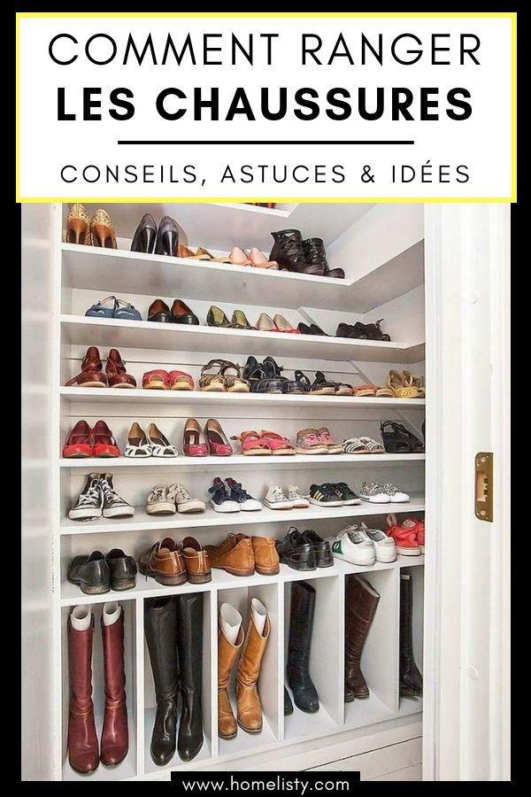 Conseils, Astuces Et Idées Pour Ranger Les Chaussures