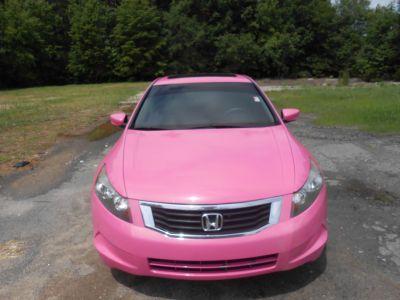 2008 Pink/Grey Honda Accord EX