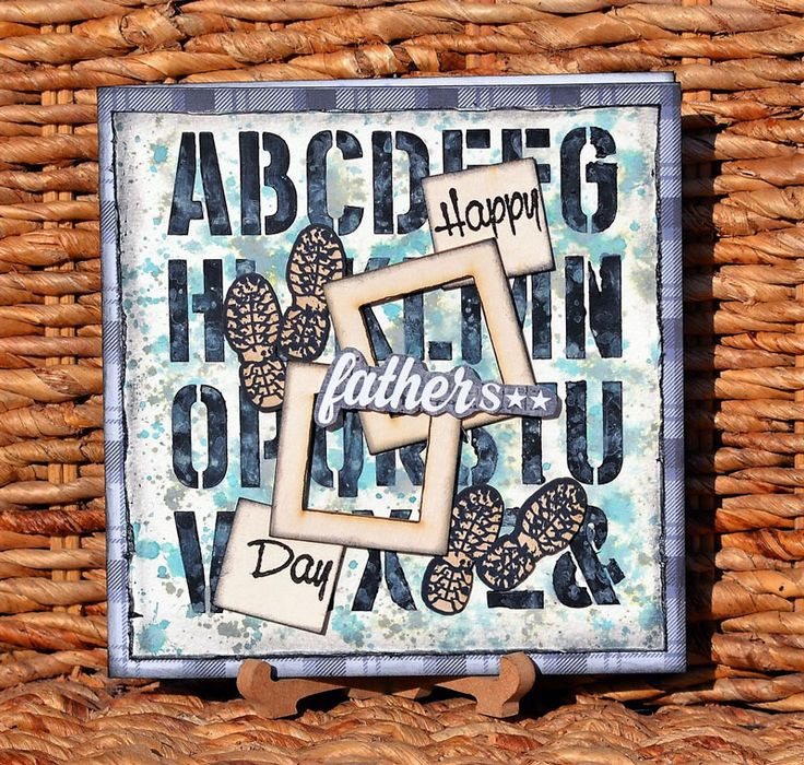 Father's Day card by Denise van Deventer using the Maestro Collection.