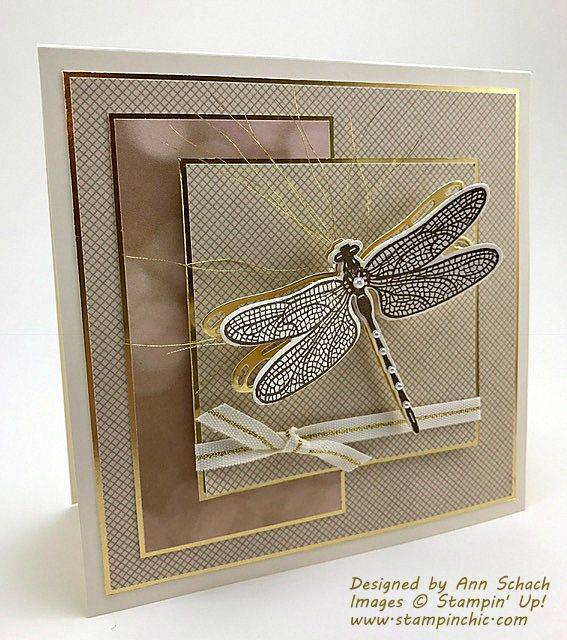 Dragonfly Dreams for Freshly Made Sketches - The Stampin' Schach