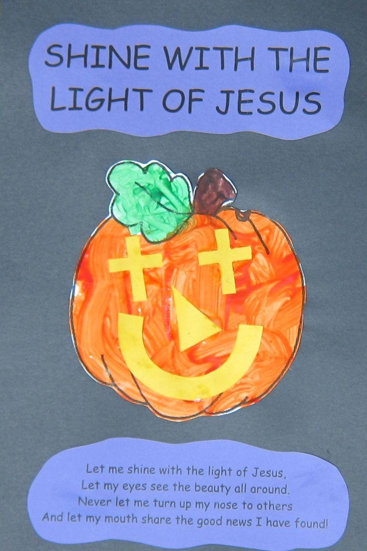 98 best pumpkin prayer crafts images on pinterest sunday for Christian sunday school crafts