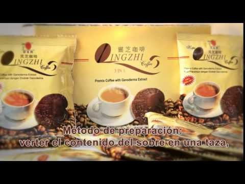 Espanol DXN Lingzhi Coffee 3 in 1 helathy Coffee product introduction
