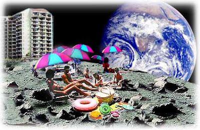 UNIVERSO PARALLELO: Andare sulla Luna in vacanza: costerà 75 milioni d...