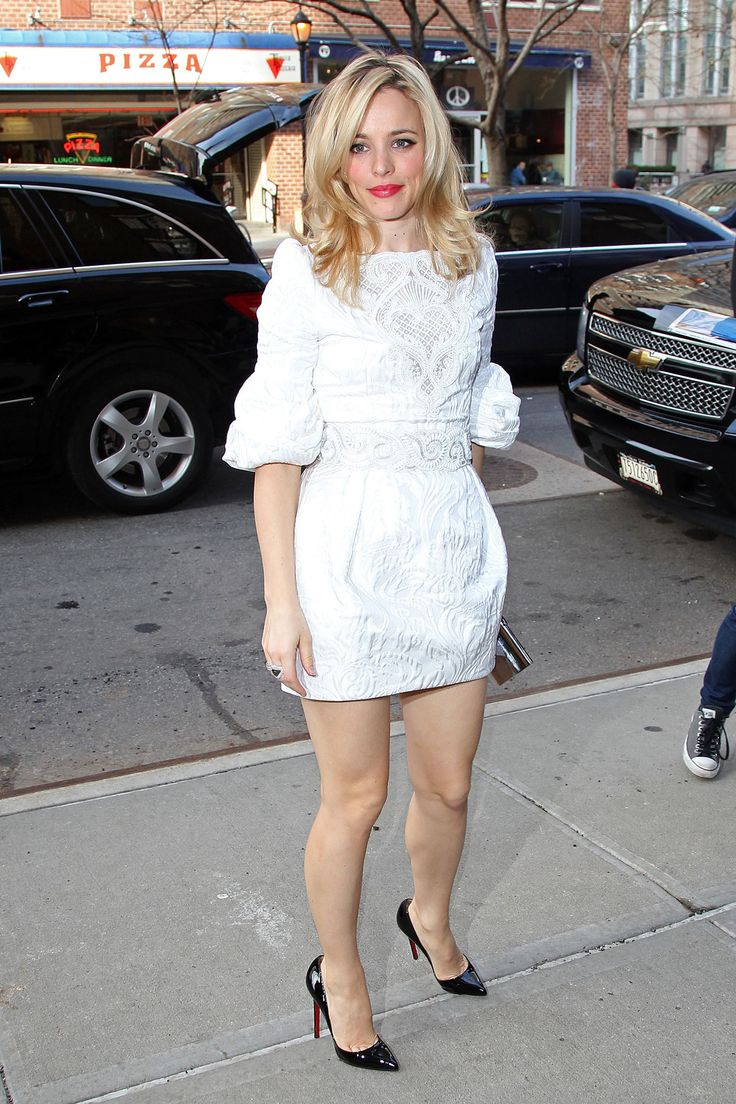 Rachel McAdams' best look top to bottom as far as I'm concerned.
