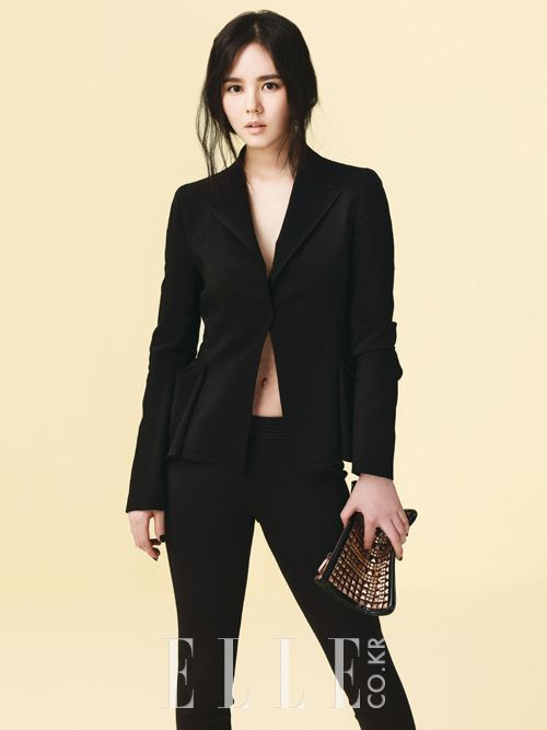 Elle, 2013.04, Han Ga In