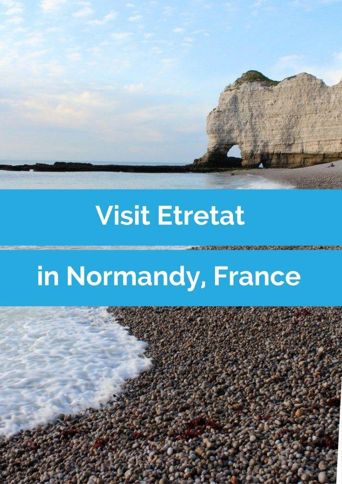 Een must do tijdens een roadtrip Normandië, Frankrijk: bezoek het strand van Etretat.