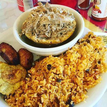 Senor Big Ed - Cypress, CA, United States. Yummy arroz con gandules y mofongo relleno de pernil.great!!