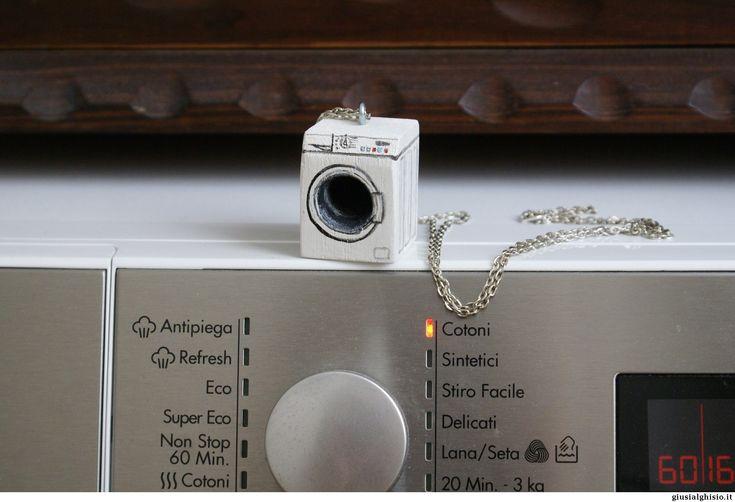 Collana lavatrice - Giusi Alghisio - collana lavatrice