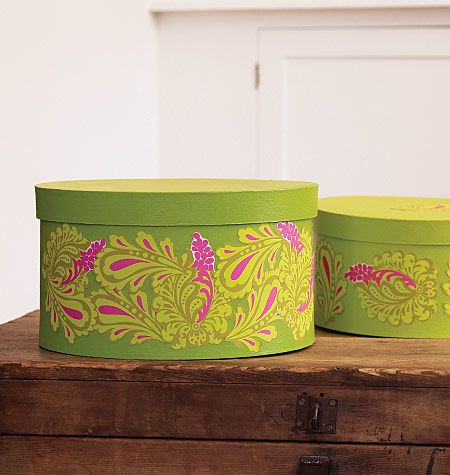 Paisley vinyl decals from wallies can be used for stylish craft projects or to add