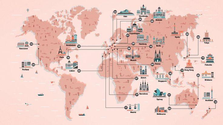 Lisbon ranks #22 in terms of Top 25 Monocle « Quality of Life Survey » 2014 - La revue Monocle nous propose de découvrir son classement des villes les plus agréables à vivre pour l'année 2014. Nommé « Quality of Life Survey« , ce classement retranscrit l'attrait d'une ville selon son taux de criminalité, l'aide sociale, l'accès à l'éducation et le développement business.