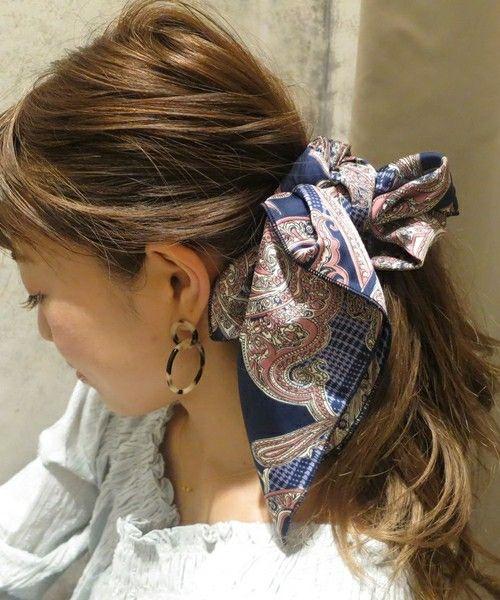 【セール】ペイズリースカーフ(バンダナ/スカーフ)|who's who Chico(フーズフーチコ)のファッション通販 - ZOZOTOWN