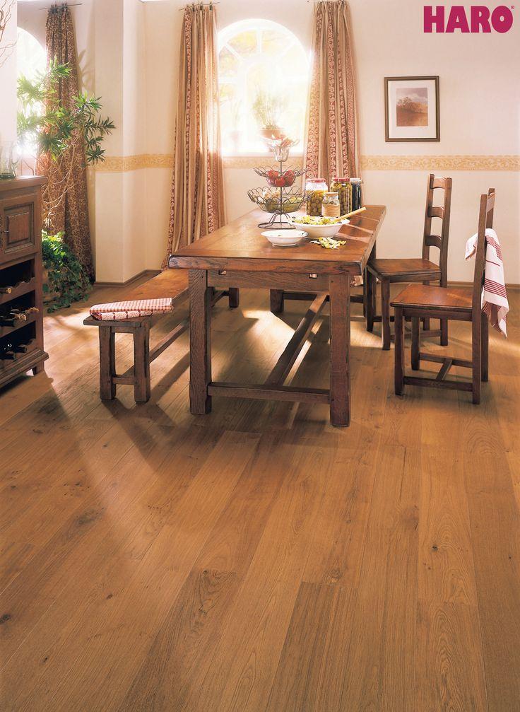 HARO PARQUET 4000 Plank 1-Strip 2V Smoked Oak Markant brushed