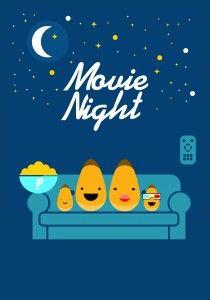 At Home Movie Night Idea: Movie Bingo {Printables}
