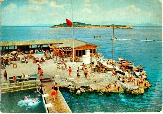 Burgaz adası Plajı 1965.