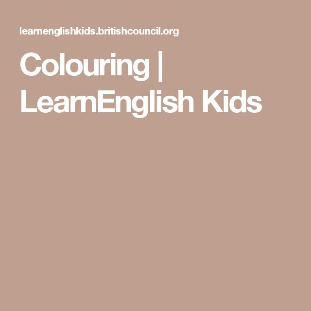 7 best fs reading images on pinterest english language kids colouring learnenglish kids fandeluxe Images